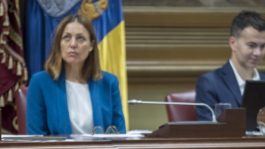 La diputada del PP Josefa Luzardo