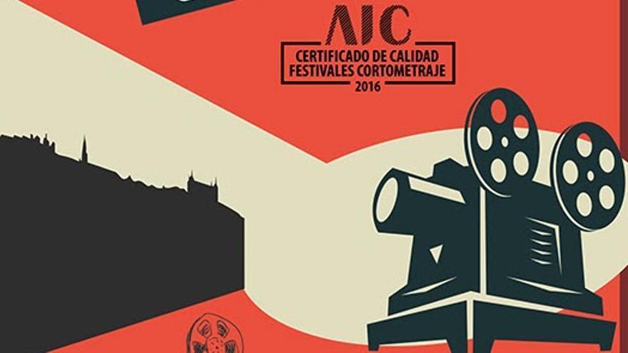 Cartel del IX Concurso de Cortos 'Ciudad de Toledo' / Ayuntamiento