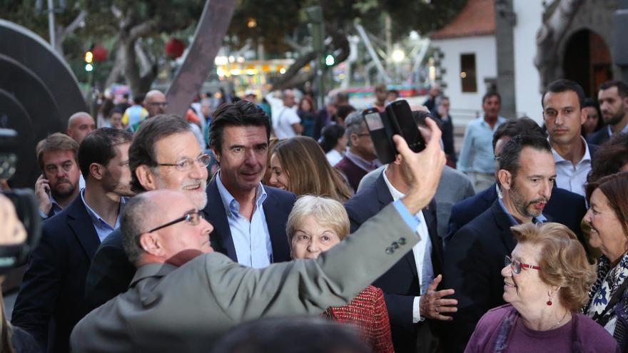 Mariano Rajoy en Triana