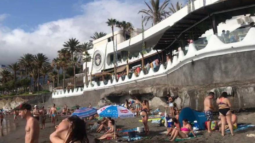 El establecimiento de ocio situado en Adeje Monkey Beach Club