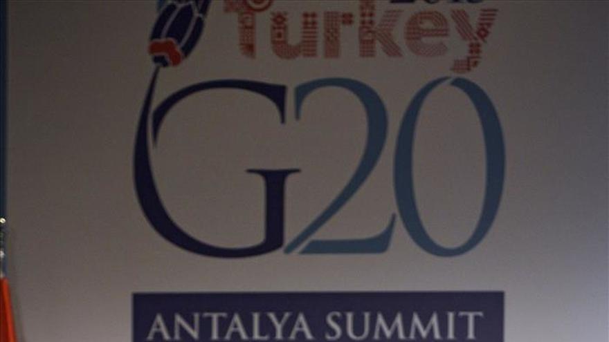 """Rajoy constata en el G20 que se """"elogia y reconoce"""" la evolución de España"""
