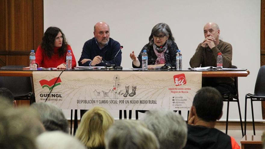 IU-Verdes llevará a las instituciones una batería de propuestas para paliar los efectos de la despoblación rural