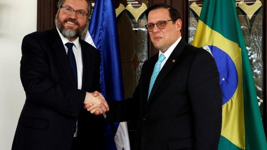 Honduras y Brasil retoman agenda bilateral y buscan acuerdo comercial
