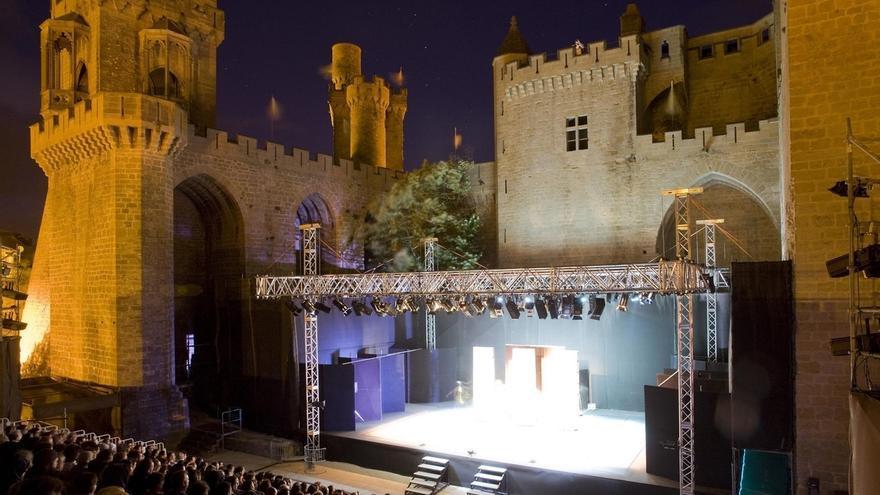 Cultura saca a concurso la dirección artística del Festival de Teatro de Olite