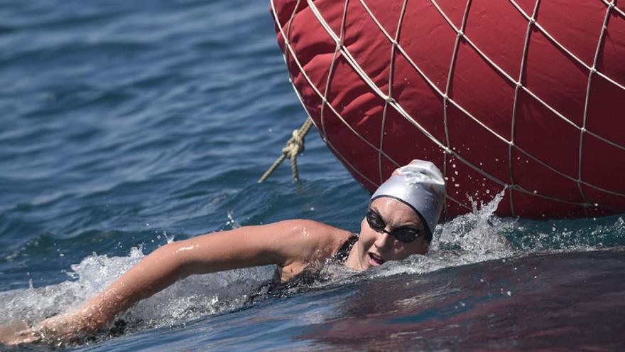 La malagueña Paula Ruiz, una auténtica estrella de la natación española