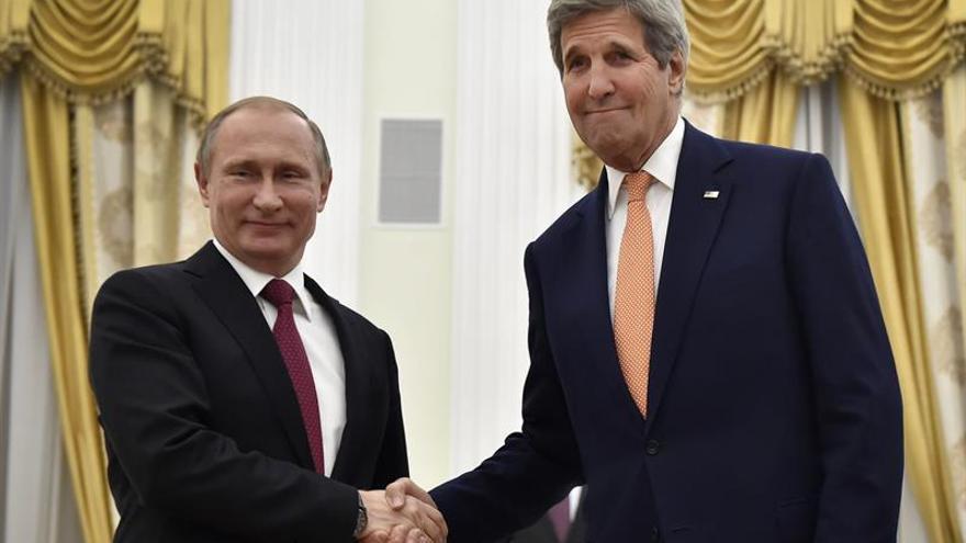 Putin y Kerry se reunirán hoy en Moscú para hablar de Ucrania y Siria