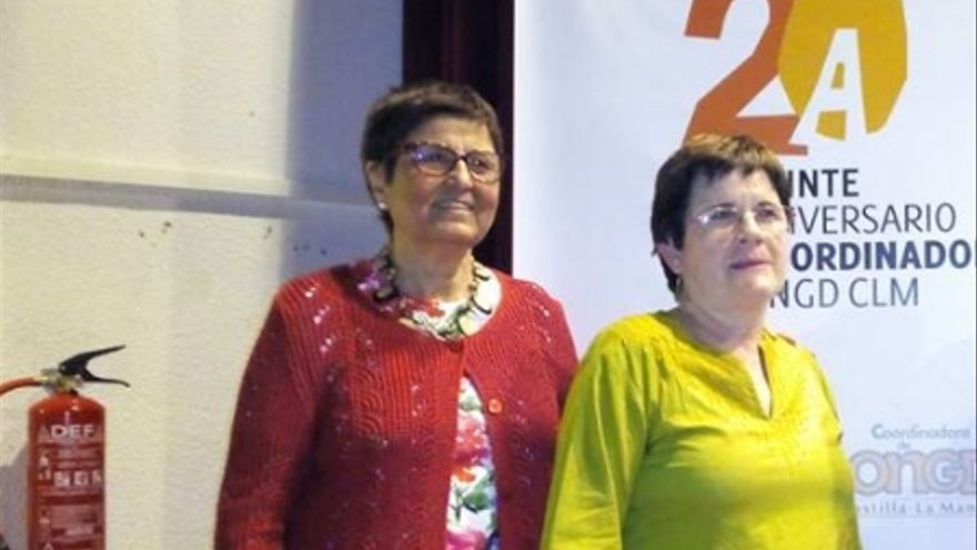 Mercedes Ruiz y Sagrario Camino, CONGD Estatal y Castilla-La Mancha