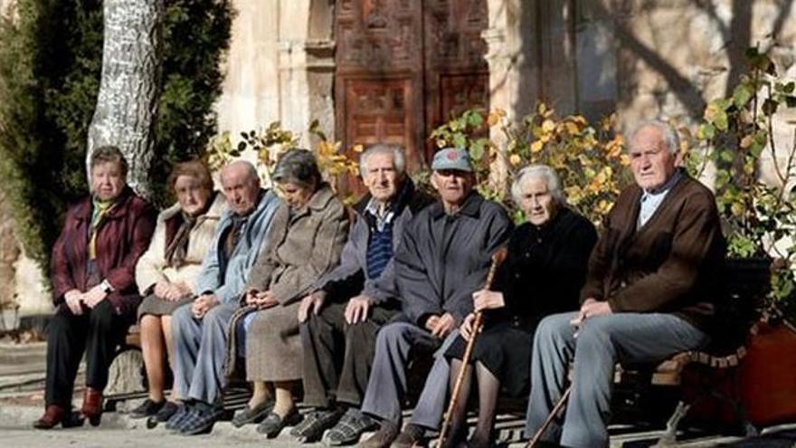 La población de Olmeda de la Cuesta (Cuenca) está muy envejecida