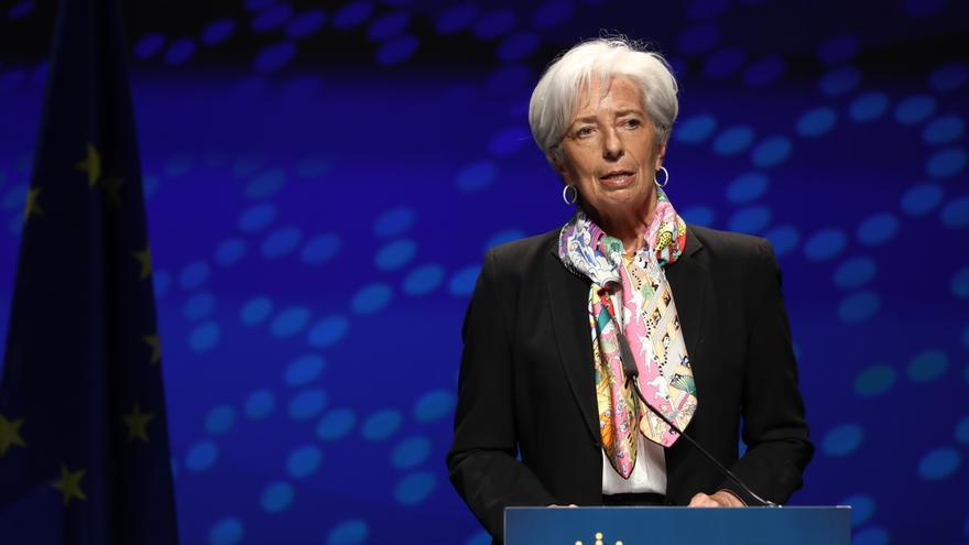 El BCE sube seis décimas el crecimiento de la eurozona hasta el 4,6 % en 2021