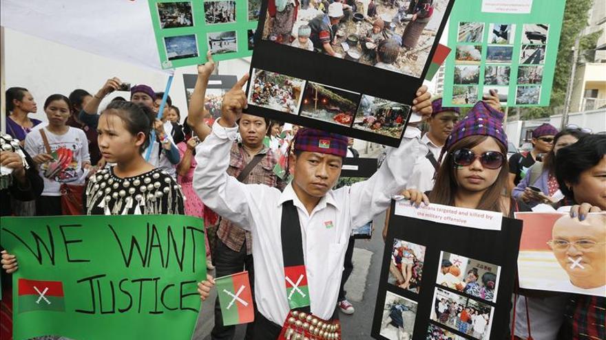 El Ejército birmano ocupa tres puestos de la guerrilla kachin
