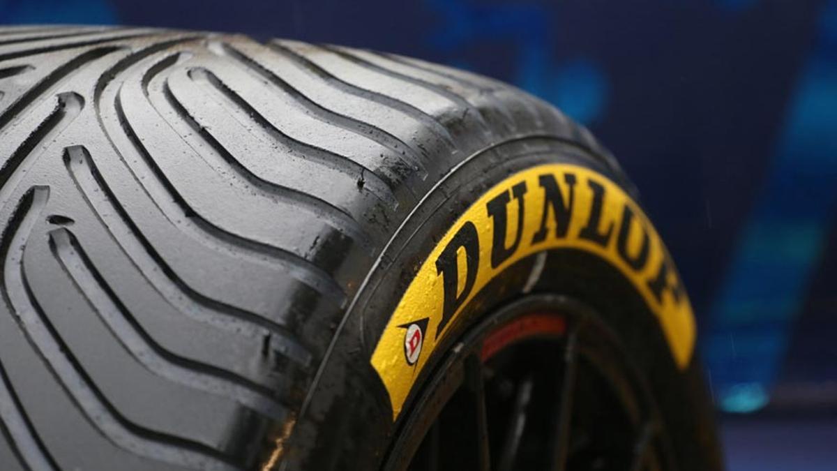 Un neumático Dunlop
