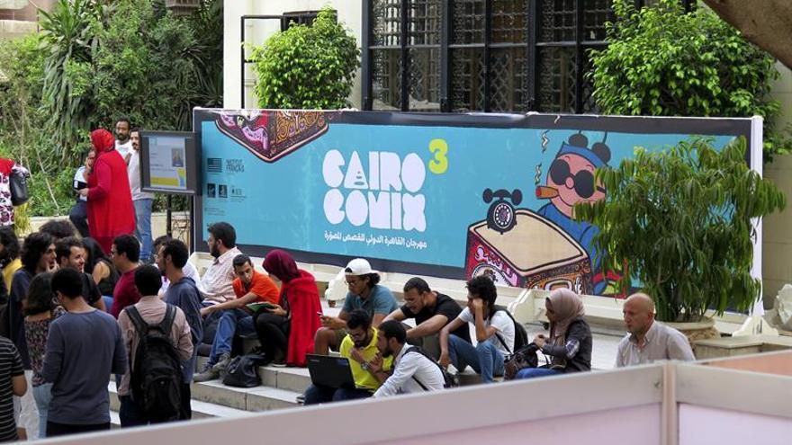 El Festival CairoComix muestra la evolución postrevolucionaria del cómic egipcio