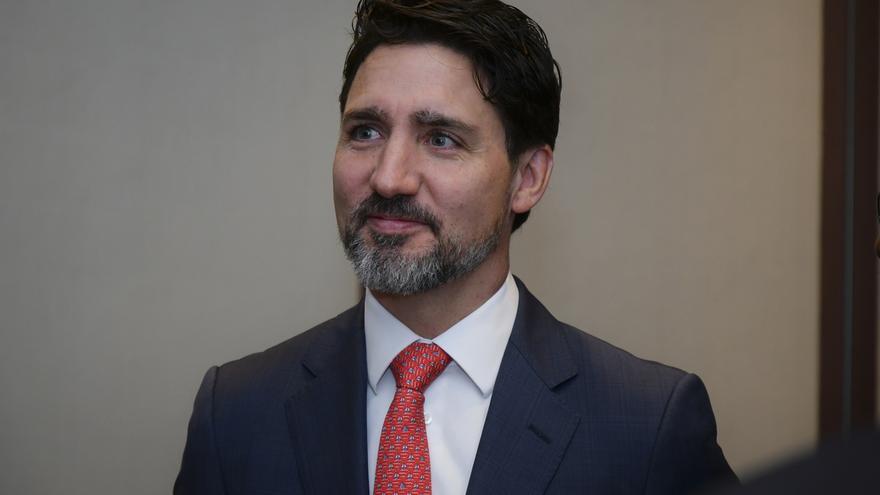 En la imagen, el primer ministro de Canadá, Justin Trudeau.