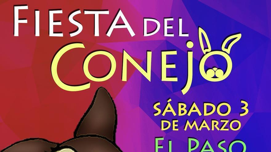 Cartel de la Fiesta del Conejo de El Paso.