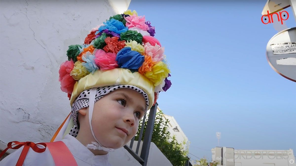 Un menor, Danzante de San Isidro