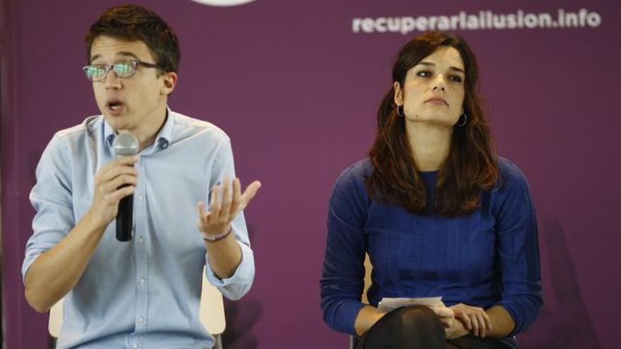 Íñigo Errejón y Clara Serra, en una imagen de archivo.