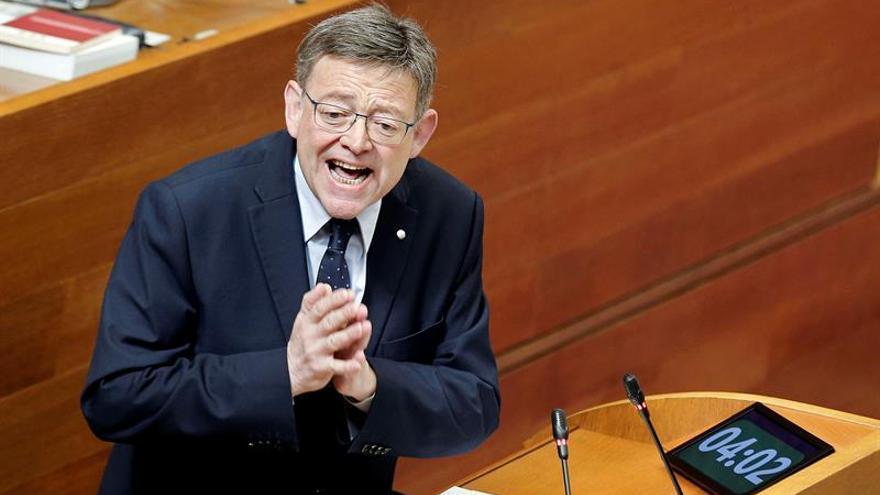 """Ximo Puig tacha los Presupuestos para 2017 de """"indignantes, 'made in Rajoy'"""""""