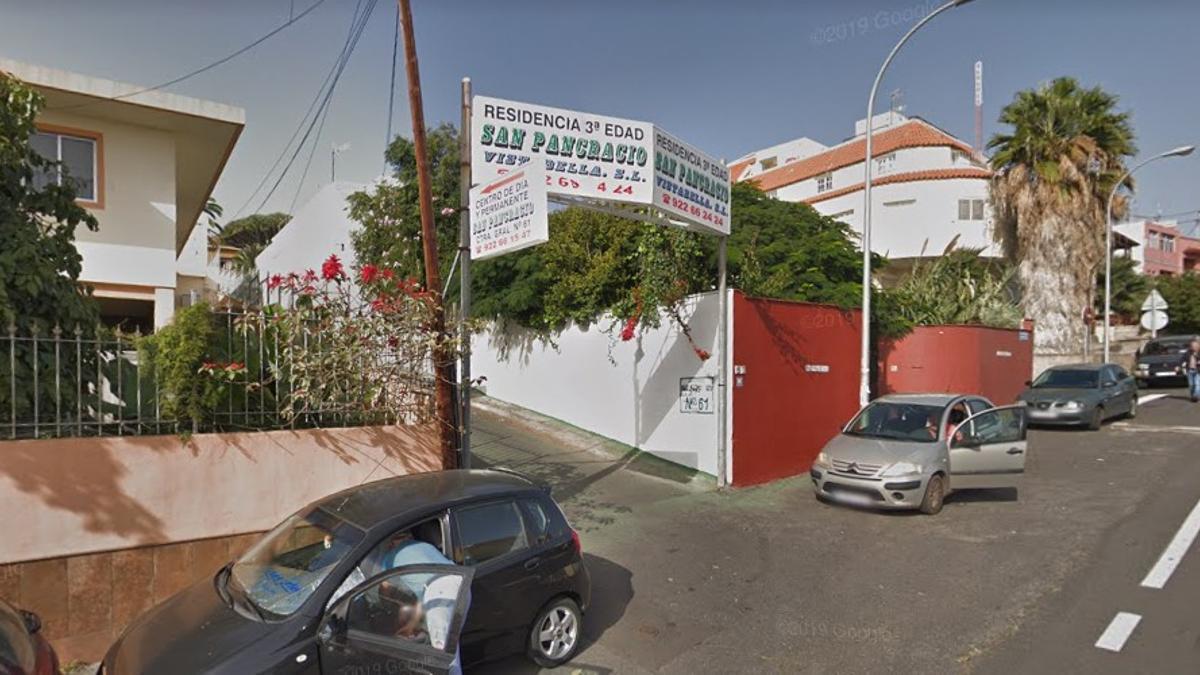 Residencia San Pancracio Vistabella, en Tenerife, afectada por un brote de coronavirus