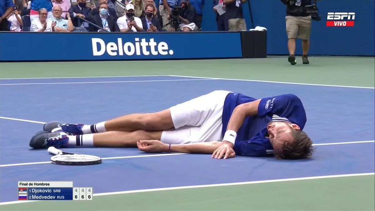Medvedev es el primer ruso en ganar el US Open