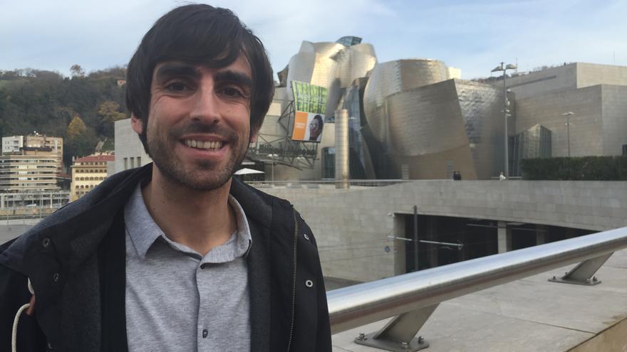 Eduardo Maura, cabeza de lista de Podemos por Bizkaia.