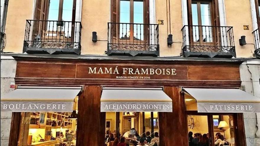 Establecimiento de Mamá Framboise en la calle Fernando VI   Imagen: MAMÁ FRAMBOISE