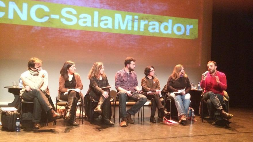 Un momento del debate en la sala Mirador / M.P.