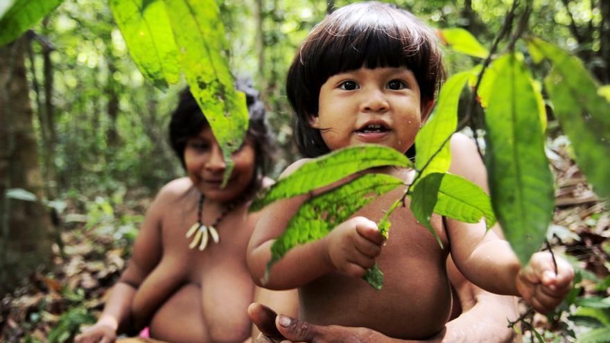 Los indígenas que cuidan de la naturaleza