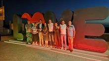 Las luces del 'Love' anuncian en Tazacorte el inicio del mayor evento social de Canarias