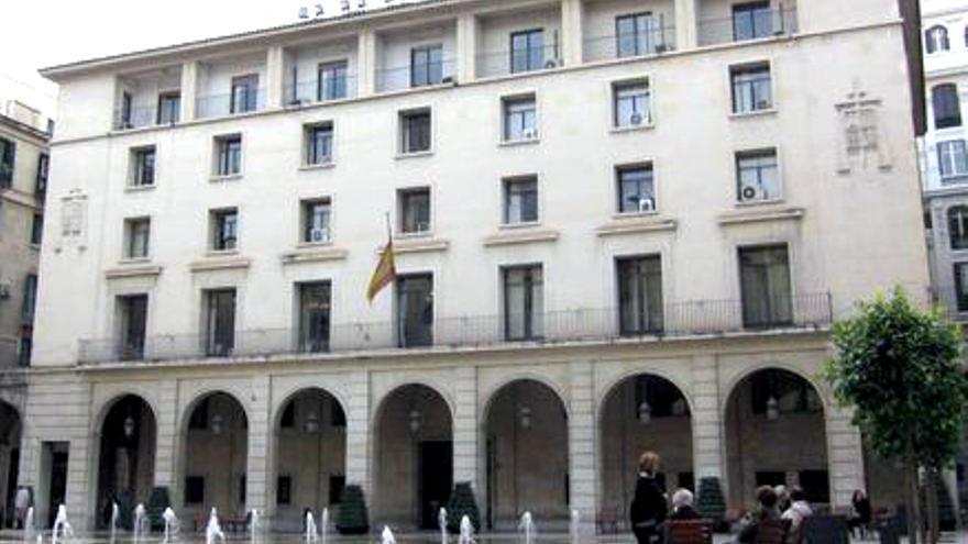 La sede de la Audiencia Provincial de Alicante