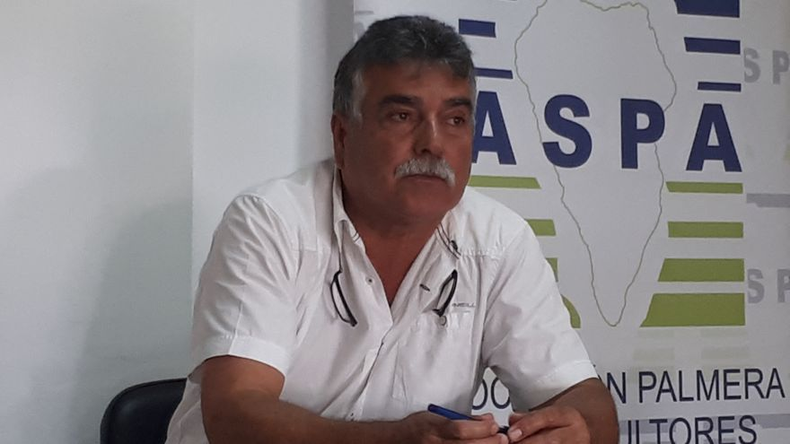 Miguel Martín Pérez, presidente de  a Asociación Palmera de Agricultores y Ganaderos (Aspa).