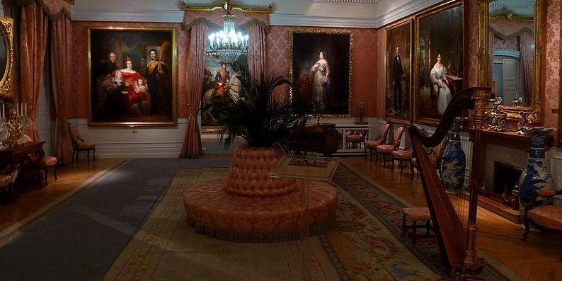 Salón de baile del Museo del Romanticismo