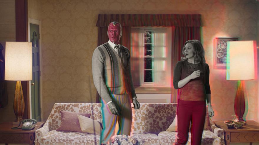 """Elizabeth Olsen: """"WandaVision"""" puede ser una puerta a las """"sitcom"""" clásicas"""