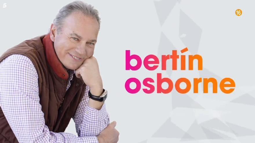 Bertín Osborne en 'Vida la vida'