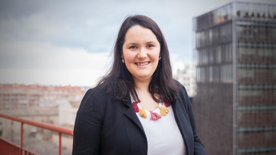 Natalia Salvo, directora del Instituto Aragonés de la Mujer