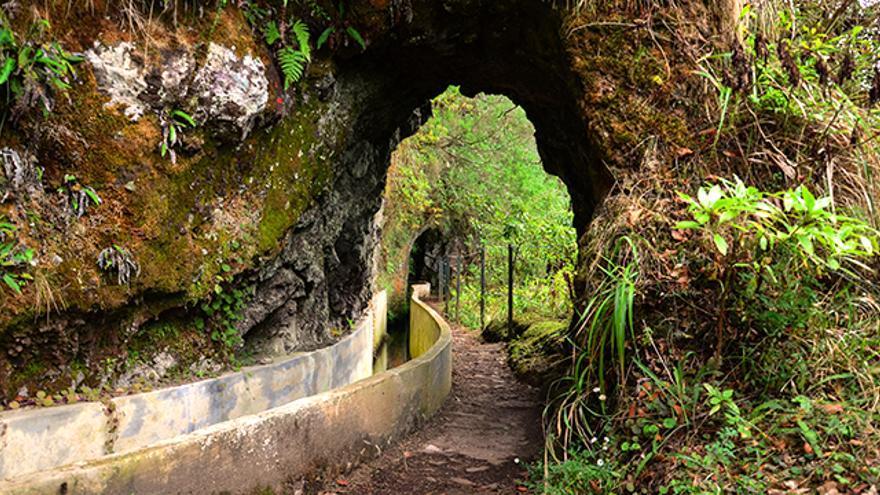 Levada do Furado, en Madeira