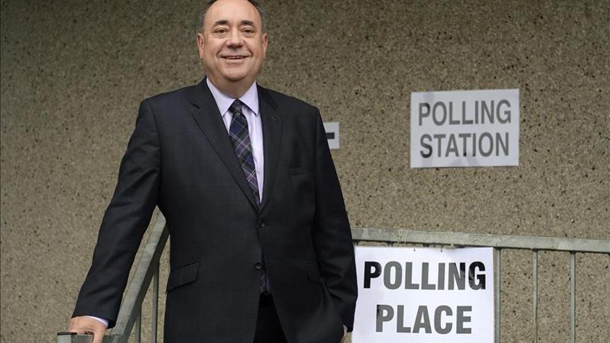 Alex Salmond será el portavoz de Exteriores del SNP en los Comunes