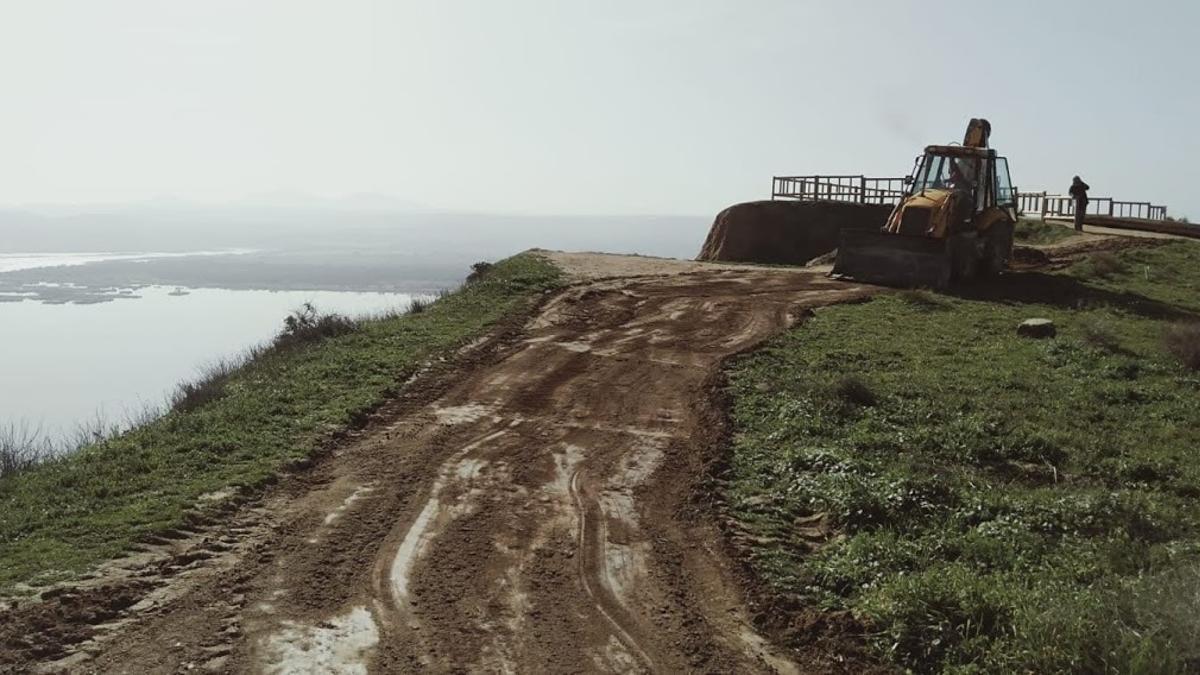 Obras en el monumento natural de las Barrancas de Burujón denunciadas por Ecologistas en Acción
