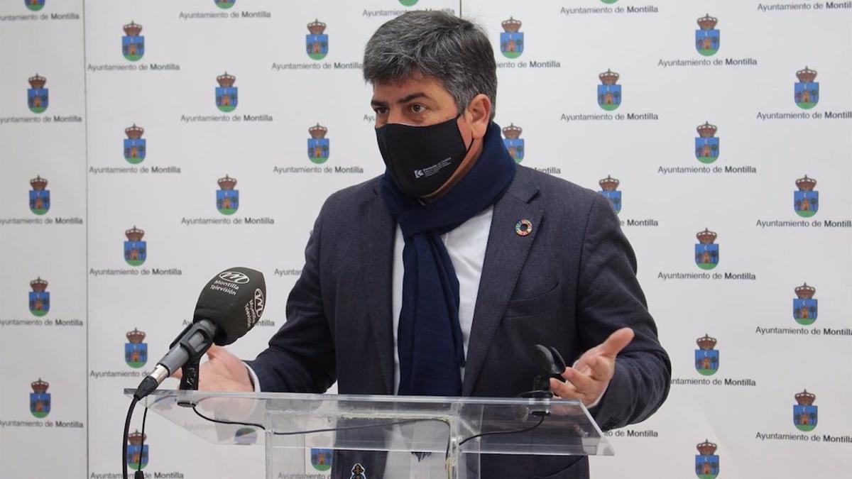 El alcalde de Montilla (Córdoba), Rafael Llamas.