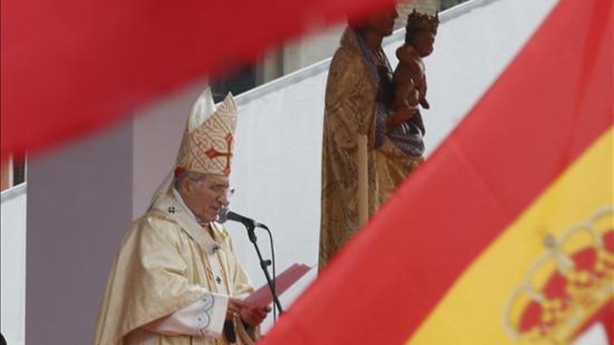 Rouco Varela durante la misa de las familias en Madrid / EFE