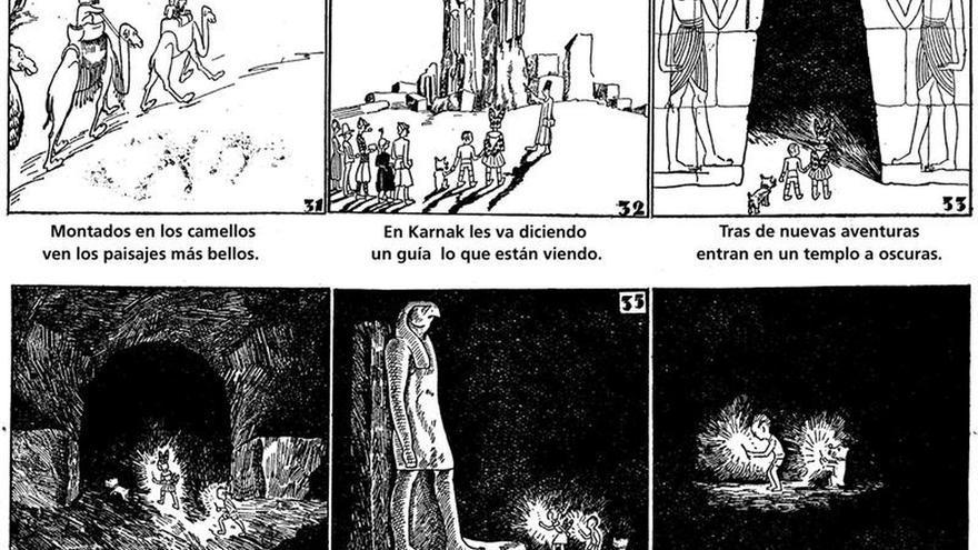 """""""Pili, Polito y Lucero"""", la """"Tintina republicana"""" rescatada del olvido"""
