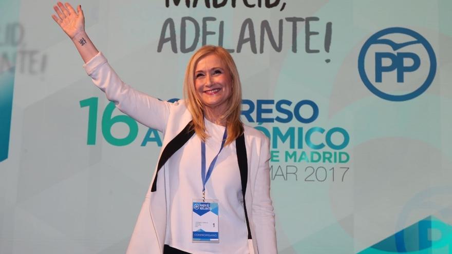 Cristina Cifuentes, proclamada presidenta del PP de Madrid con el 93,3% de los votos