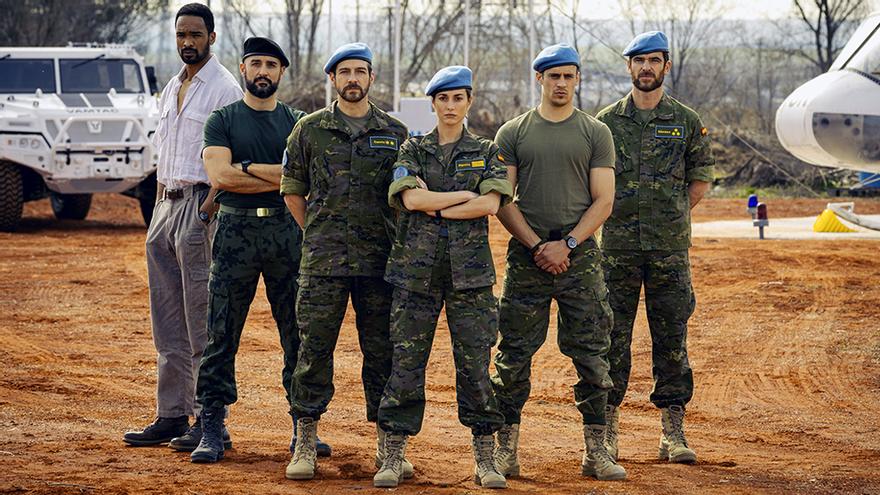 TVE prepara 'Fuerza de paz', un nuevo thriller militar con Silvia Alonso y Martiño Rivas