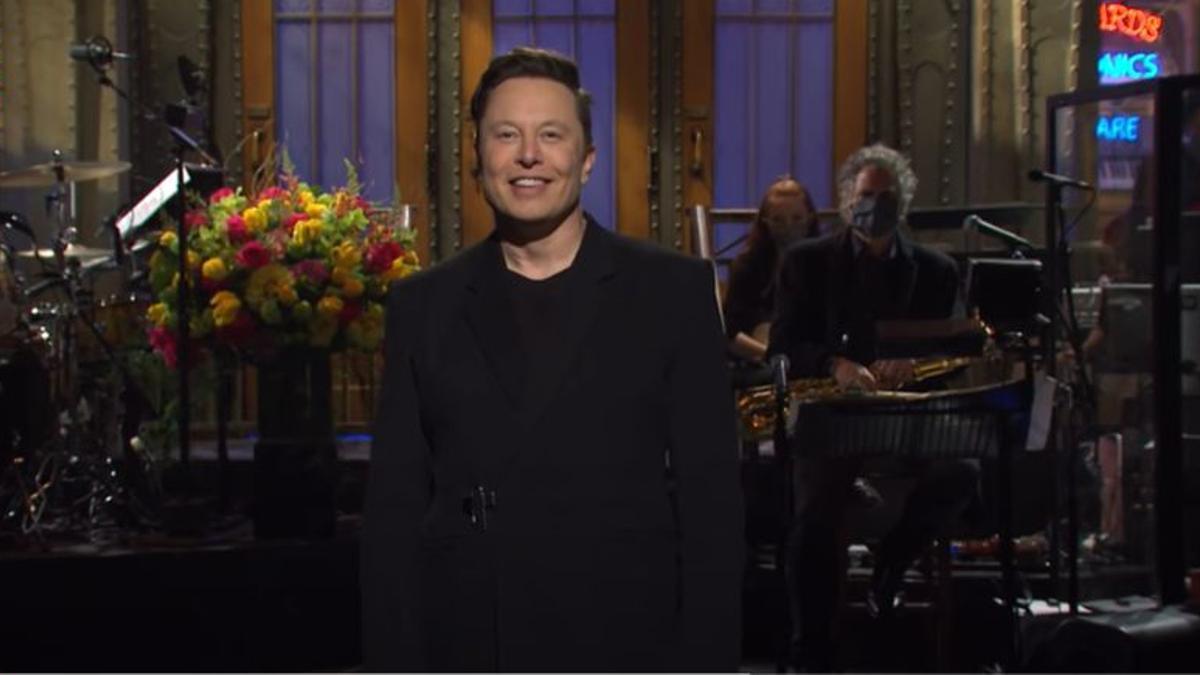 "Elon Musk en ""Saturday Night Live"""