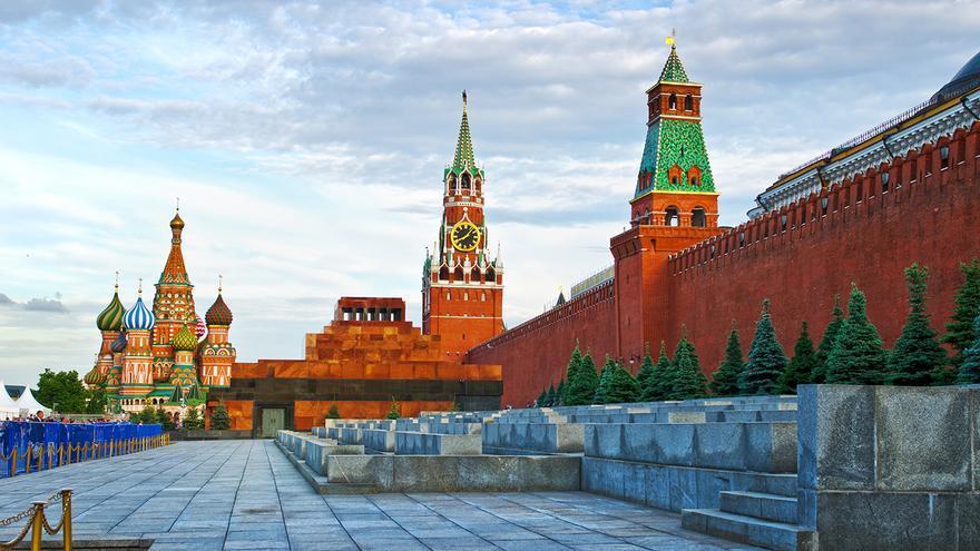 Plaza Roja de Moscú.