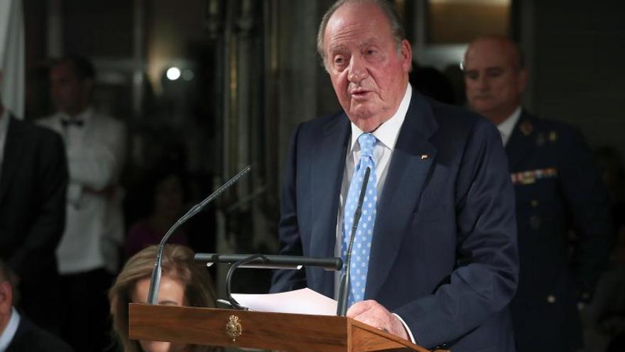 Don Juan Carlos estará con el rey en acto por la Constitución en el Congreso