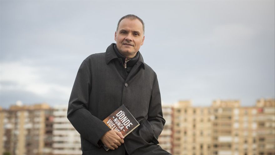 Alberto Carranza, autor de 'A donde nunca vuelves'.