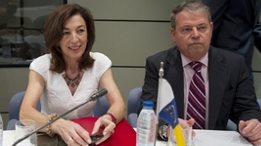 Margarita Ramos, este jueves en la Conferencia Sectorial de Empleo.