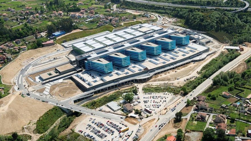 Vista del nuevo hospital de Vigo
