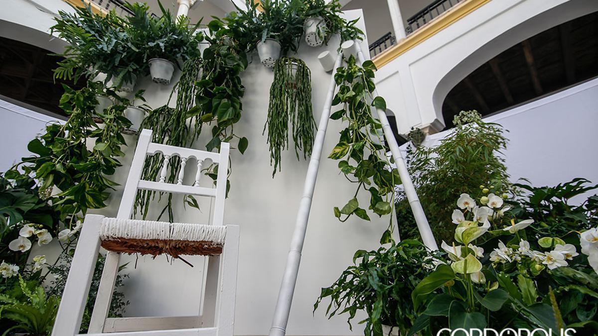 Instalación en Flora 2019 del grupo madrileño Flor Motion, que resultó ganadora