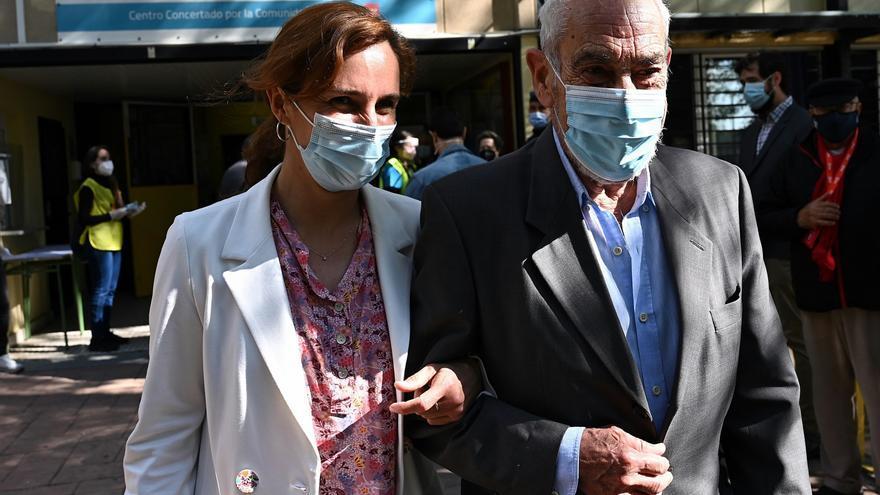 """Mónica García (Más Madrid) anima a convertir """"aplausos en votos"""""""